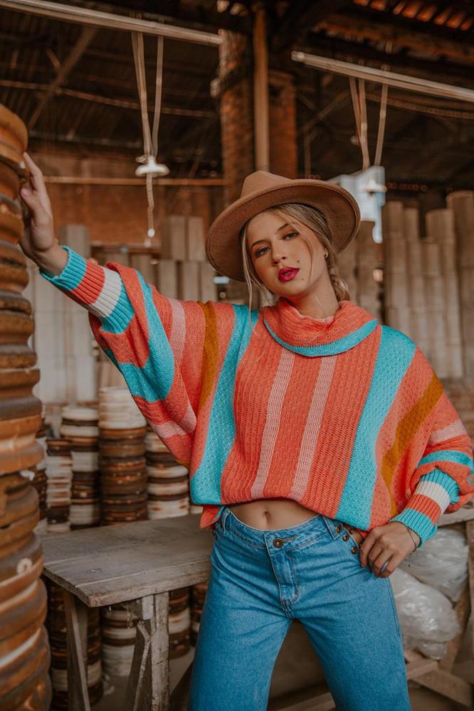 Poncho Lisleine - colors