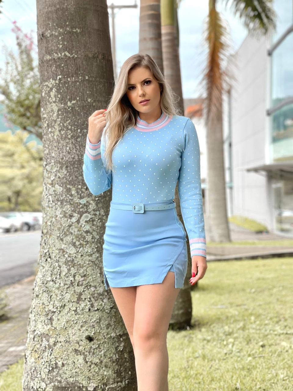 Blusa Pietra - Poá